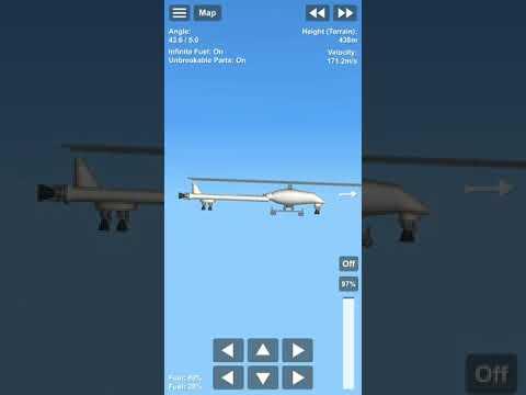 Flying Helicopter using rocket engine II Spacecraft Simulator |