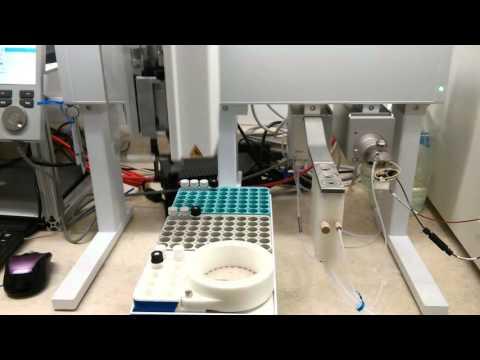 PAL3-LSI  Autosampler particle analysis from SPOT SAMPLER™ collector