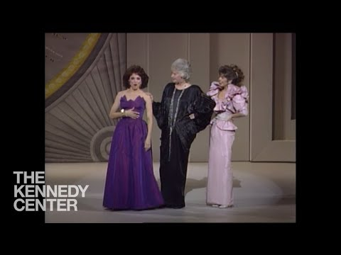 Bea Arthur, Valerie Harper, and Pam Dawber  Lucille Ball Tribute  1986 Kennedy Center Honors