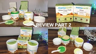 Mama Earth Ubtan Night Face Mask Review Part 2 With Demo Night F Mask Honest Review By Amrin Ali
