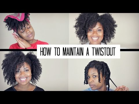 How To Maintain a Twist Out on Natural Hair