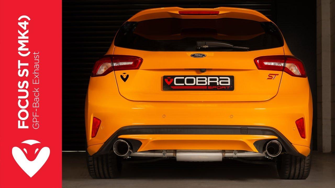 ford focus st mk4 exhaust sound cobra sport gpf back performance exhaust