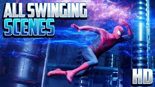 Spider-Man - All Swinging Scenes | HD
