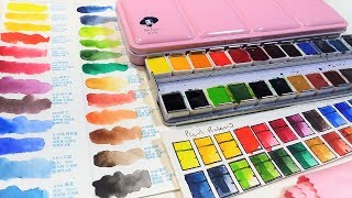 Paul Rubens Review Part 1: Standard Watercolor set of 24