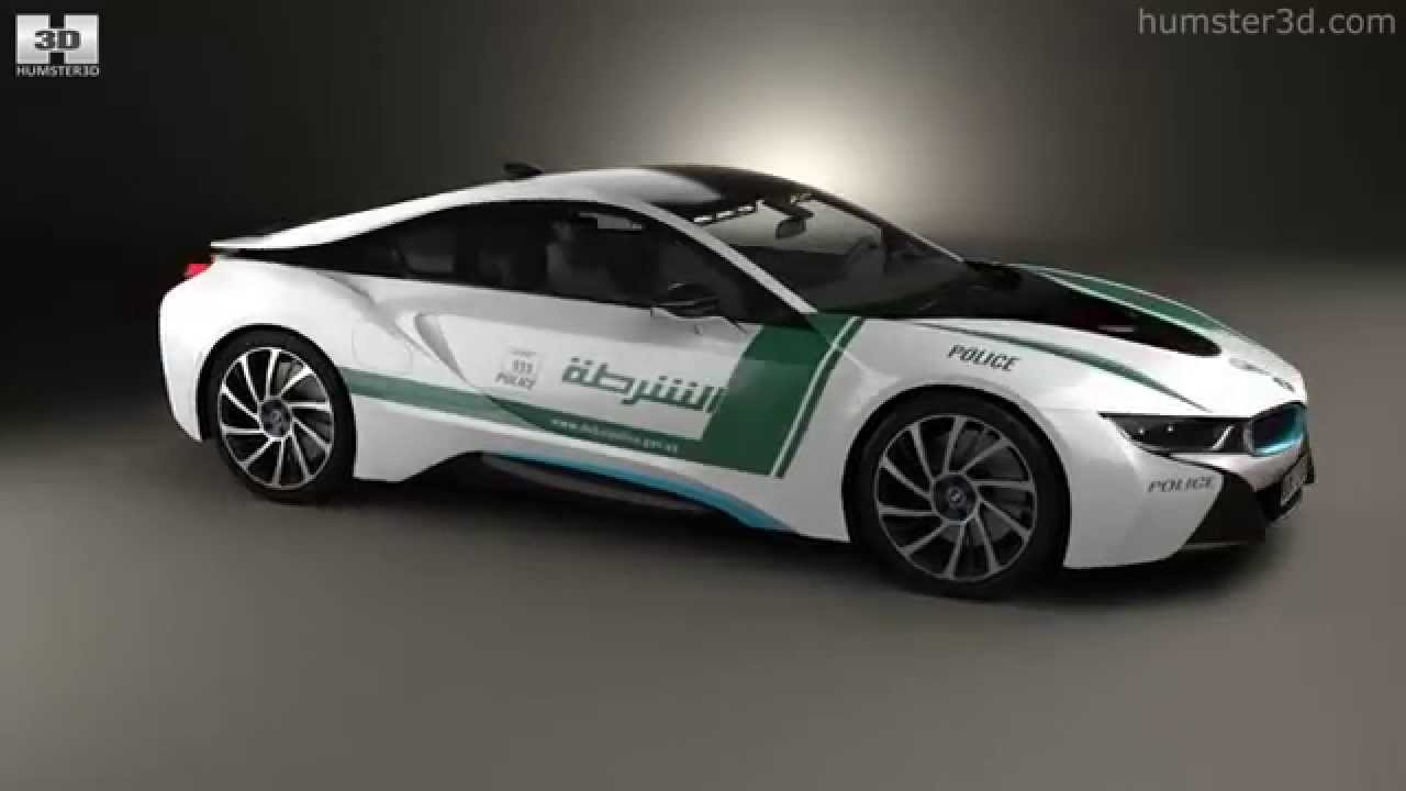 Bmw I8 Police Dubai 2015 By 3d Model Store Humster3d Com Youtube