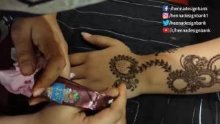 Arabic Mehndi Design For Full  Hand Mehndi designs