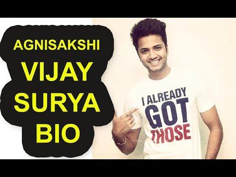 Agnisakshi Vijay Surya Biography || Vijay Surya Complete Biography