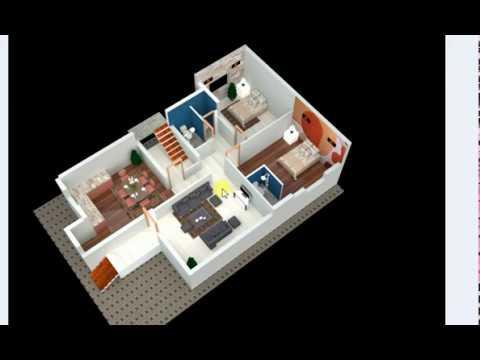 33x50 Ft 2bhk 3d House Plan Youtube