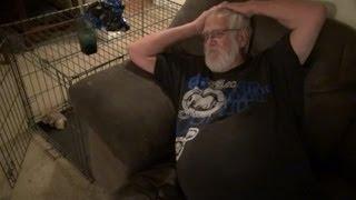 Grandpa Makes Himself at Home!