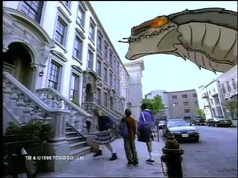 GODZILLA®: The Series  1998 FOX Kids Commercial