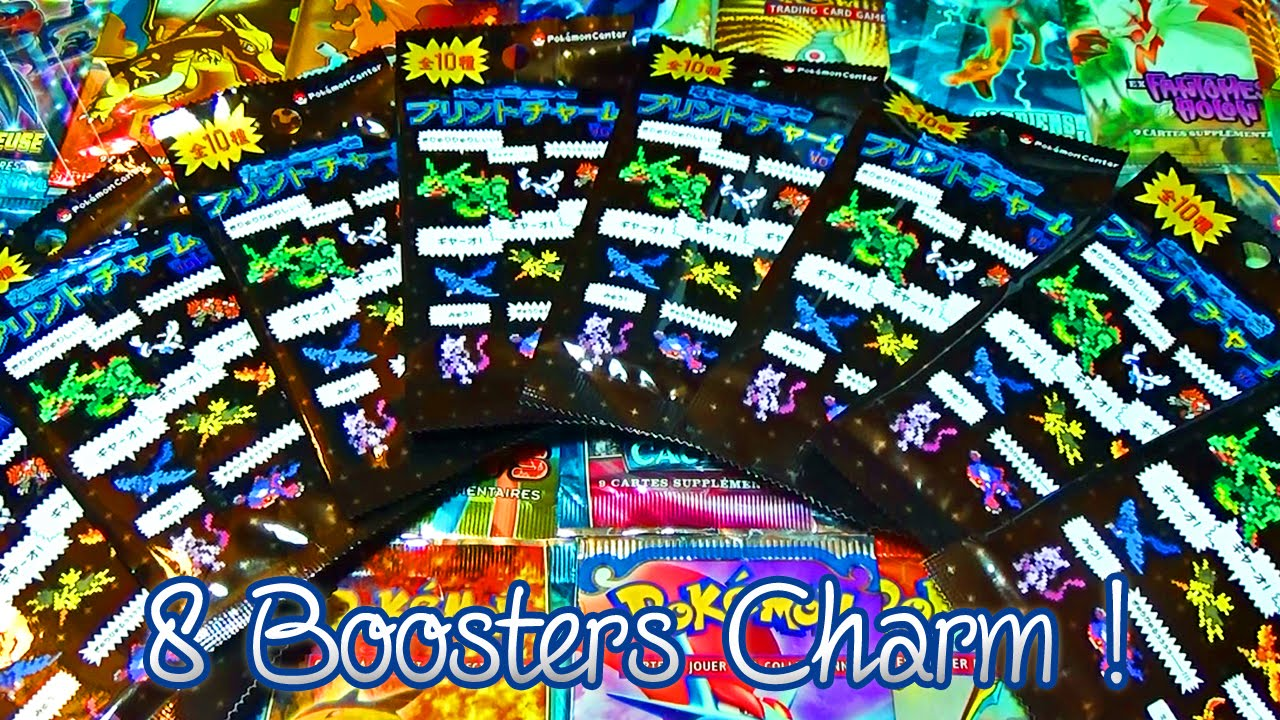 Ouverture De 8 Boosters Pokémon Charm Legendary Cries Campaign Des Pixel Art Pokémon Center