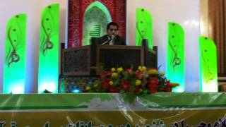 Qari Afghan Ahmad Hossein Final of Quran Competition Mashhad (Iran) Jameeye Qariane Afghan