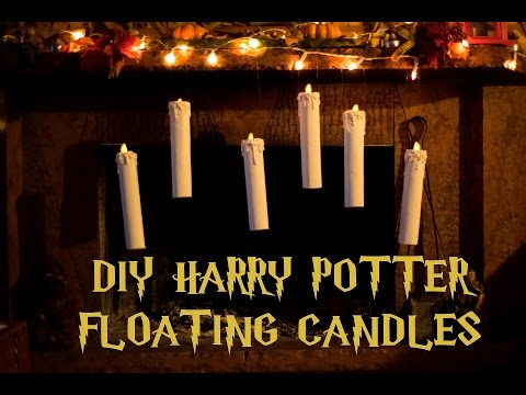 DIY: Harry Potter floating candles/Candele fluttuanti Harry Potter