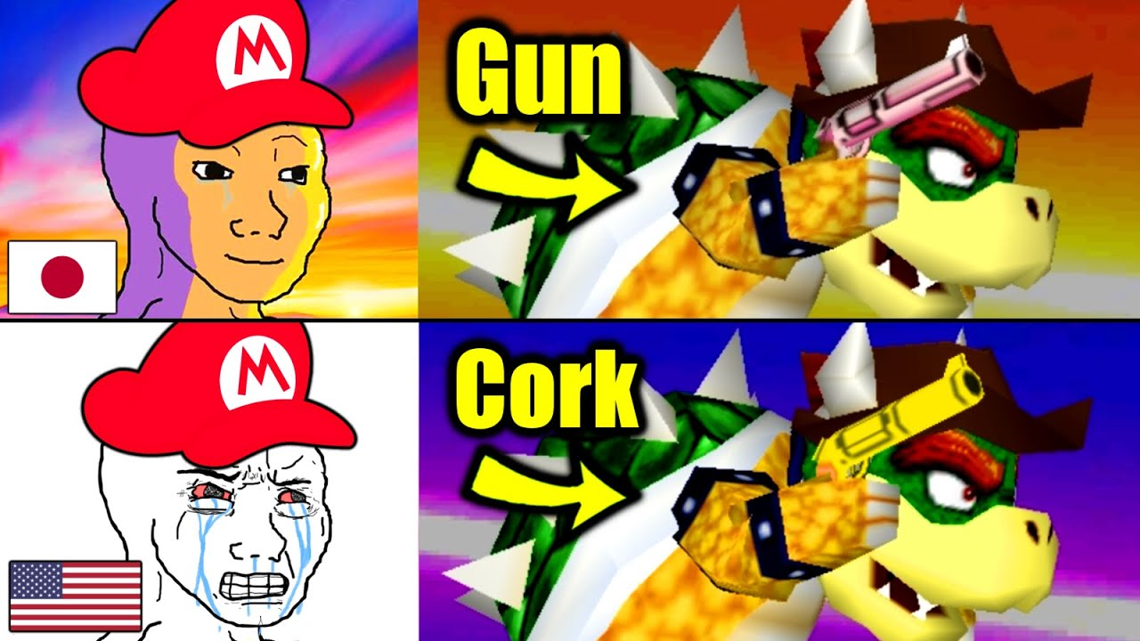 There is a Lot of Censorship in Mario Games