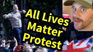 London All Lives Matter Protest | Comedy React | SmileyDaveUK
