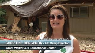 Grant Walker 4-H Educational Center in Pollock Damaged by Hurricane Laura