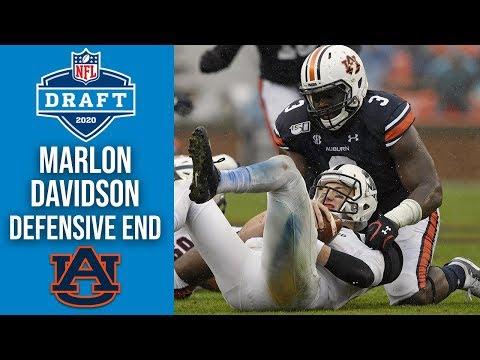 Marlon Davidson | Defensive End | Auburn | 2020 NFL Draft Profile