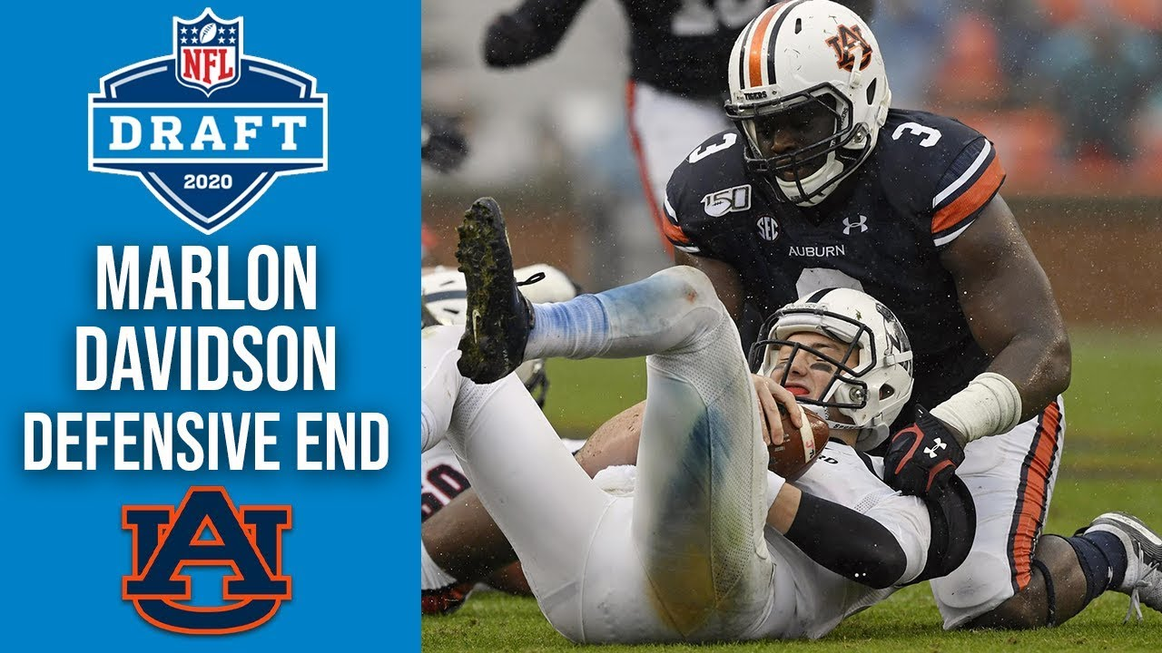 Marlon Davidson | Defensive End | Auburn | 2020 NFL Draft Profile