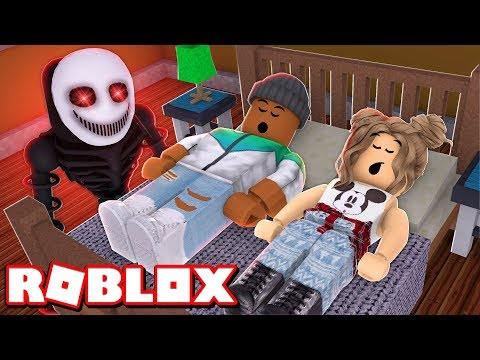 I Was Invited To A SCARY SLEEPOVER In Roblox.. (Don't Watch) (CAMPING PART 11)