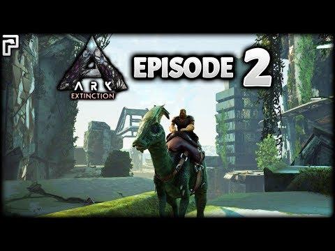Dilophosaur, Parasaur & Mini Work Area! | ARK Survival Evolved: Extinction | Episode 2
