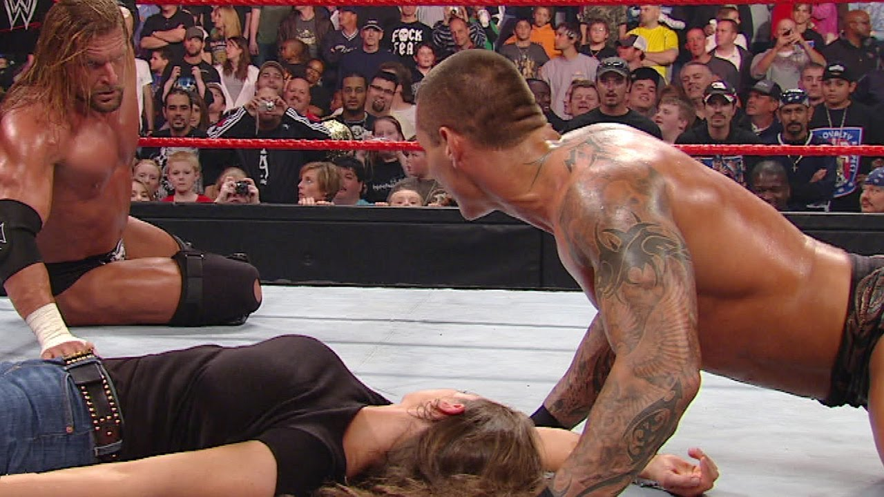 Download Randy Orton makes it personal with Triple H