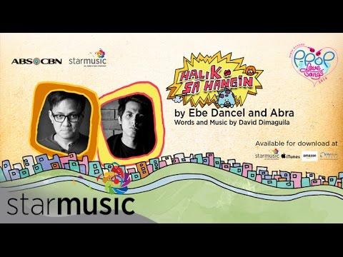 Ebe and Abra - Halik sa Hangin (Official Lyric Video)