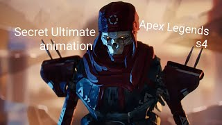 Apex legends season 4 Revenant secret ultimate animation