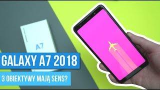 Samsung Galaxy A7 2018 - Recenzja - Najlepszy APARAT w swojej cenie? / Mobileo [PL]