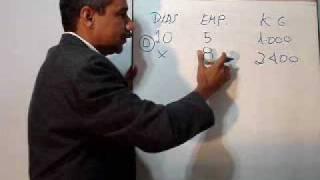 REGRA DE TRÊS COMPOSTA SEM SETAS. Matemática comercial e financeira. thumbnail