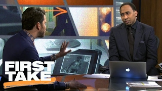 Stephen A. Smith Challenges Will Cain About Tony Romo's 'Greatness' | First Take