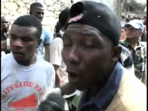 School Collapse haiti Oxygen on Site Telemax