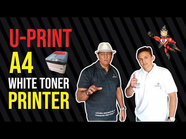 Print on any product on the planet! First of its kind chemical transfer printer