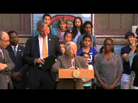 Mayor de Blasio Launches 'School's Out New...