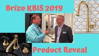 Brizo KBIS 2019 Product Reveal: Rook Kitchen Collection & Invari Bathroom Collection