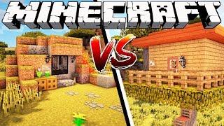 CAVE HOUSE VS TREE HOUSE - Minecraft