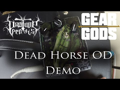 Pro Tone Pedals Dead Horse OD Demo METAL | GEAR GODS