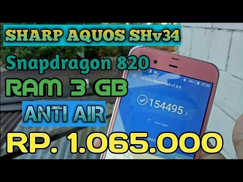 #5 Review SHARP SHv34 | antutu 150k cuma 1,1 juta...! #alay :v
