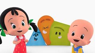 Las formas - Canta con Cleo y Cuquín y aprende los colores con un vídeo divertido para niños