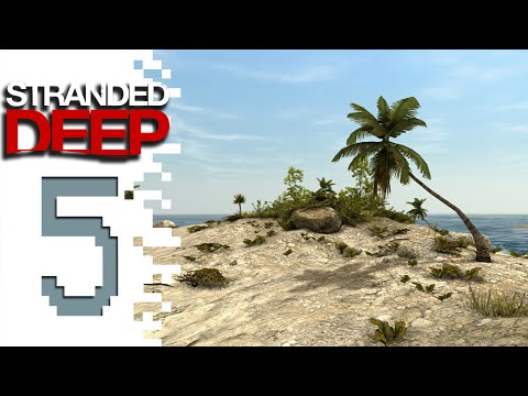Let's Play Stranded Deep - EP05 - Island House!