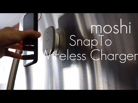 Ultimate Magnetic Wireless Charger - moshi SnapTo Wireless Charger - Review