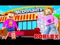 Roblox McDonalds Tycoon With Molly And Daisy!