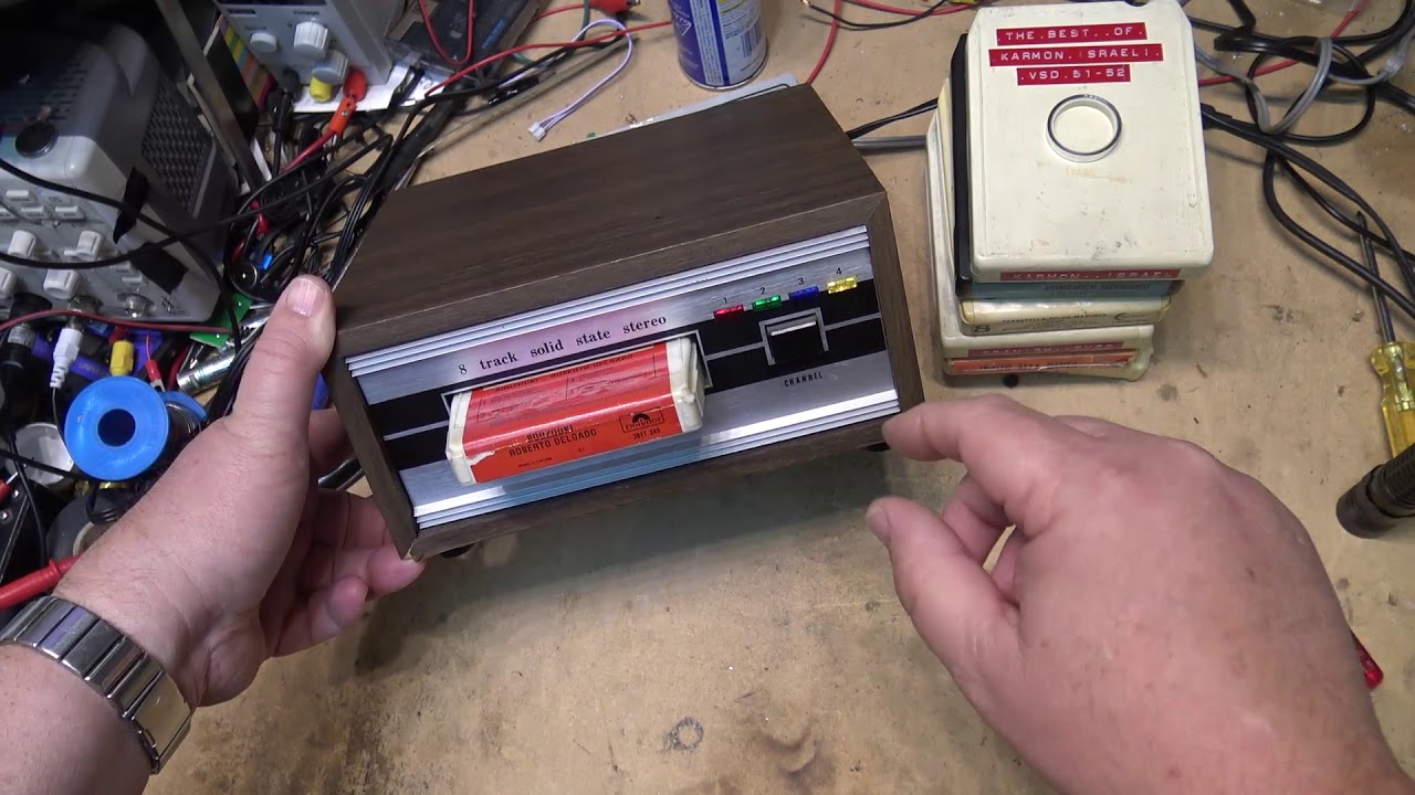 How To Repair An 8 Track Tape