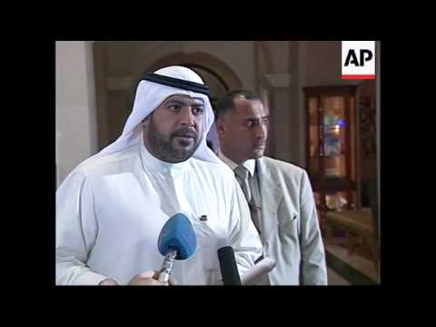Kuwaiti Minister of Energy on oil prices