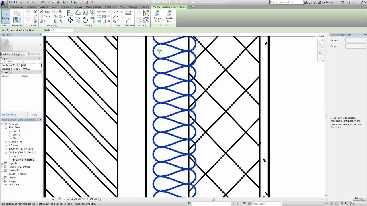 How To Make A Simple Floor Plan New Revit Wall Section And Detail Youtube
