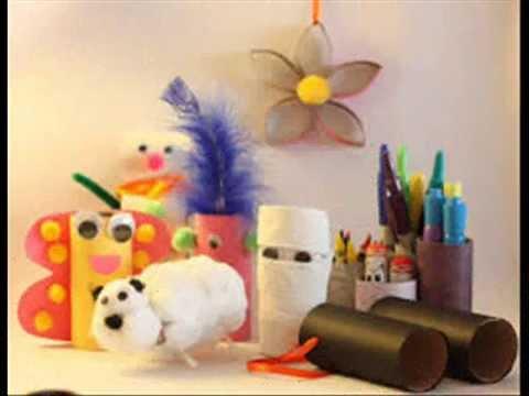 Manualidades con rollos de papel higienico reciclaje youtube - Manualidades con rollos de papel higienico para navidad ...