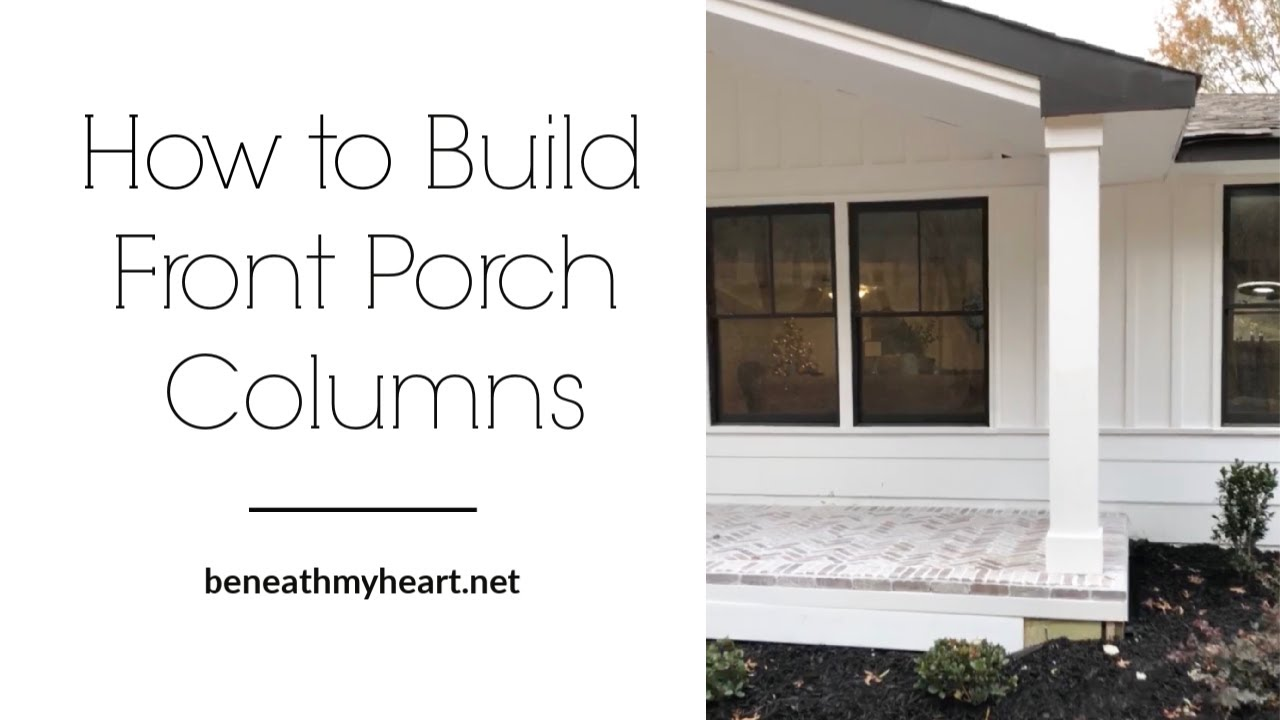 How To Build Front Porch Columns Beneath My Heart,Islamic Geometric Design Step By Step