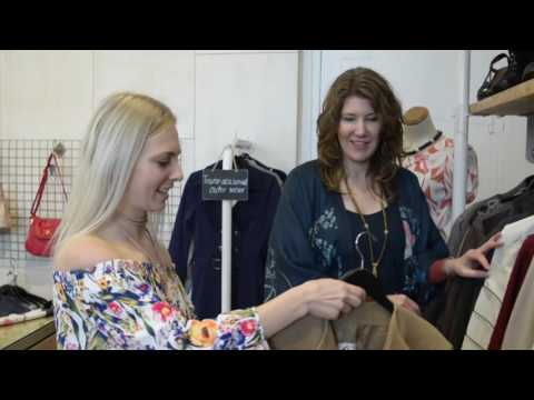 Clothing swap and interview at Melbourne Boutique - Penny Lane Exchange