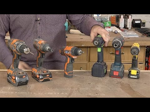 Cordless Drill Fundamentals | I Can Do That!