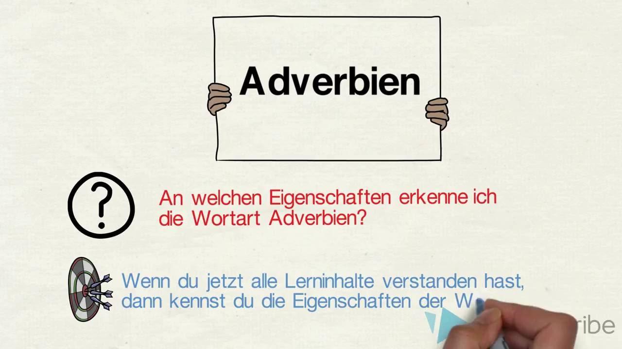 Adverb Wortart Kennenlernen Deutsch Klasse 5 0