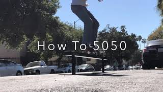 How To 5050 Grind with Spencer Nuzzi